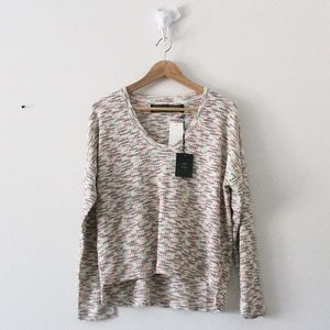 NWT CODEXMODE Lightweight Ribbed Sweater Top 1937